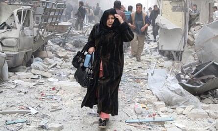 Woman in Aleppo