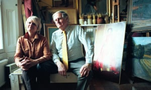 Michael and Vivien Noakes in 1999.