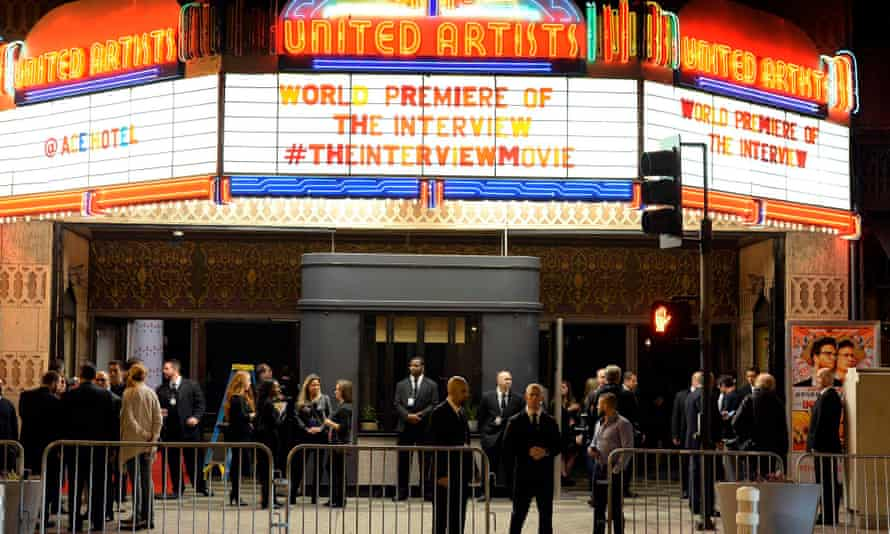 Premiere of The Interview in Los Angeles, California.