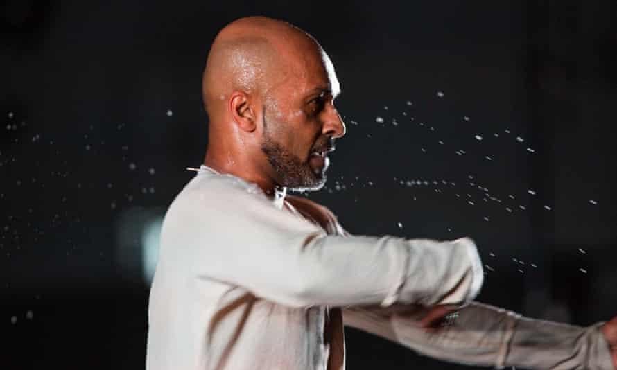 Hurling down the gauntlet … Akram Khan.