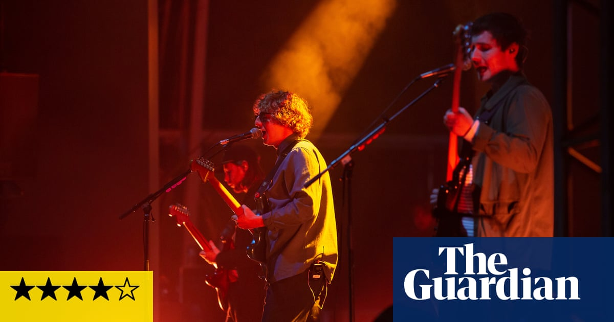 The Snuts review – homecoming rockers inspire flying pints and overturned chairs