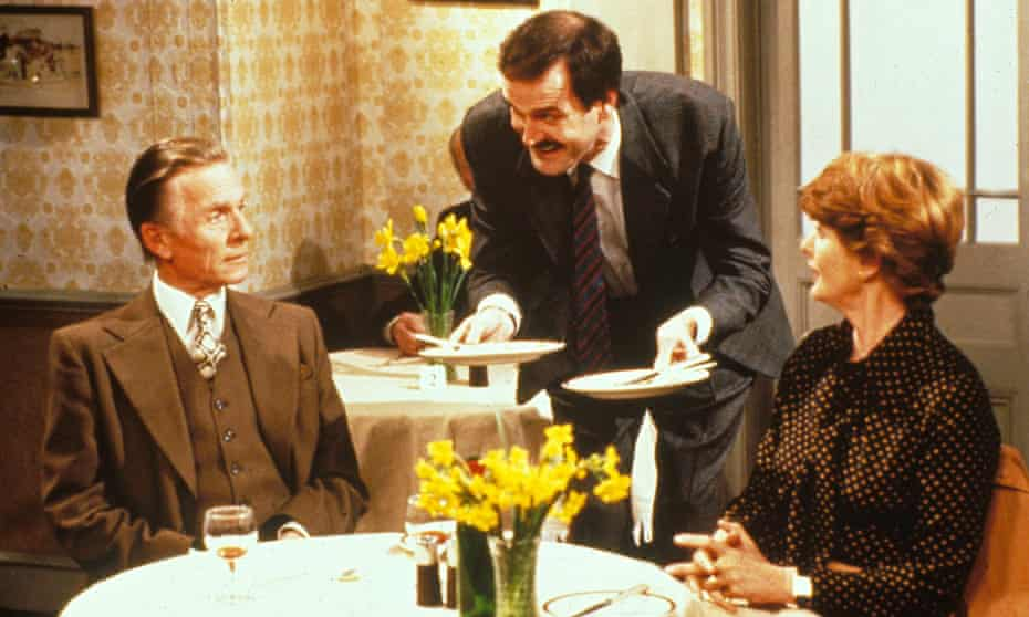 A scene from Fawlty Towers