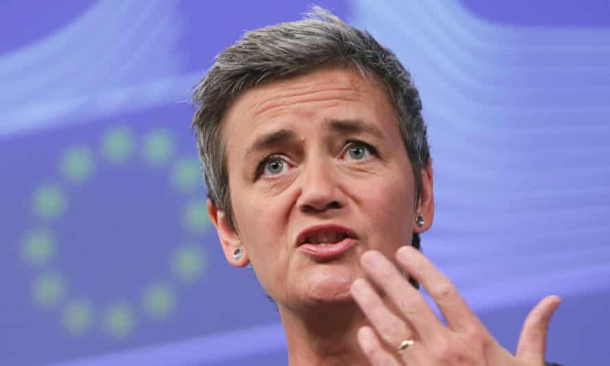 EU Commissioner for Competition, Margrethe Vestager