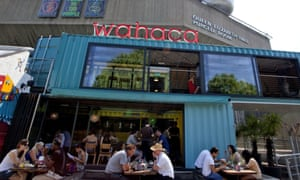 Wahaca … asks staff to hand back money.