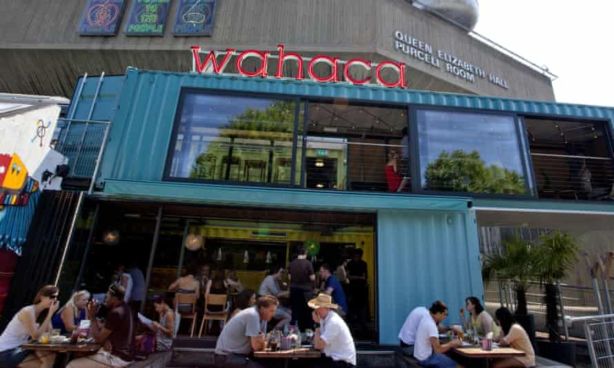 Wahaca … asks staff to hand back money.