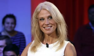 Kellyanne Conway, counselor to Donald Trump, who used the phrase 'alternative facts' during an interview.