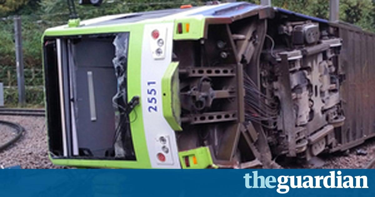Croydon tram crash 'caused by driver falling asleep and speeding'