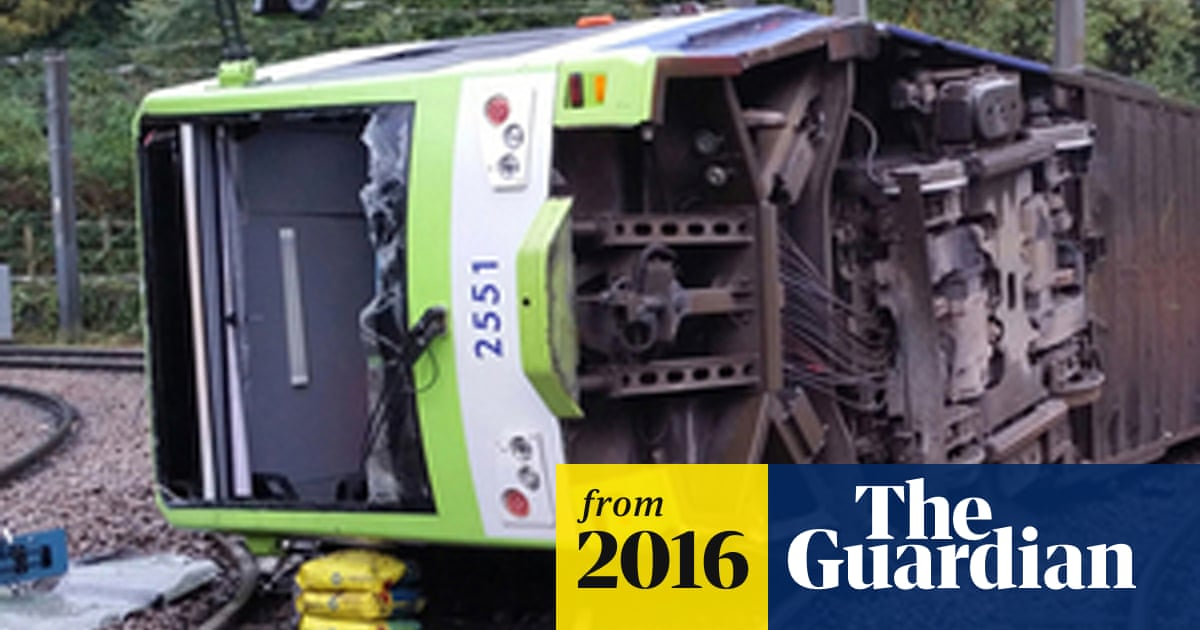 Croydon tram derailment: 19-year-old man is first victim to