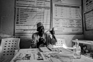 Ibrahim Mbaya, chairman of the IDP camp in Gwoza