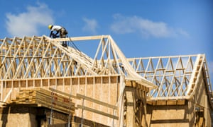 File photo of a construction worker working on a new house being built in Vaughan<br>A construction worker works on a new house being built in a suburb located north of Toronto in Vaughan, Canada, in this file photo taken June 29, 2015. Canada's housing boom is increasingly driving homebuyers to seek mortgages from private lenders, who demand rates that can be more than five times higher than those charged by the nation's banks. To Match Insight CANADA-HOUSING/ REUTERS/Mark Blinch/Files