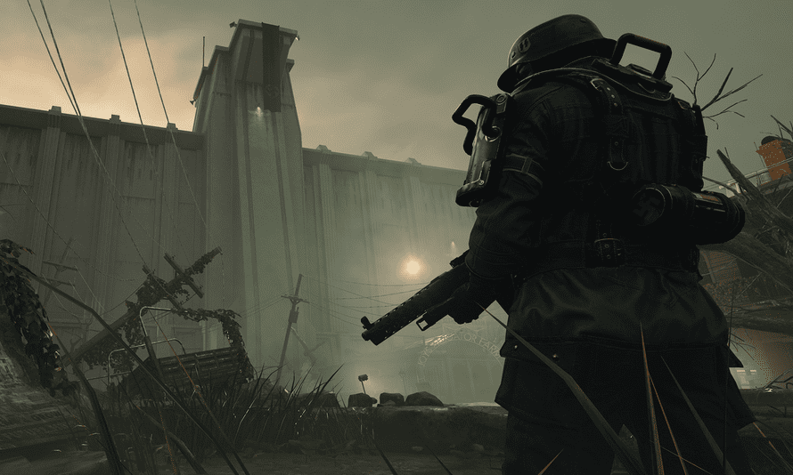 The latest instalment of Wolfenstein, The New Colossus, is set in America.
