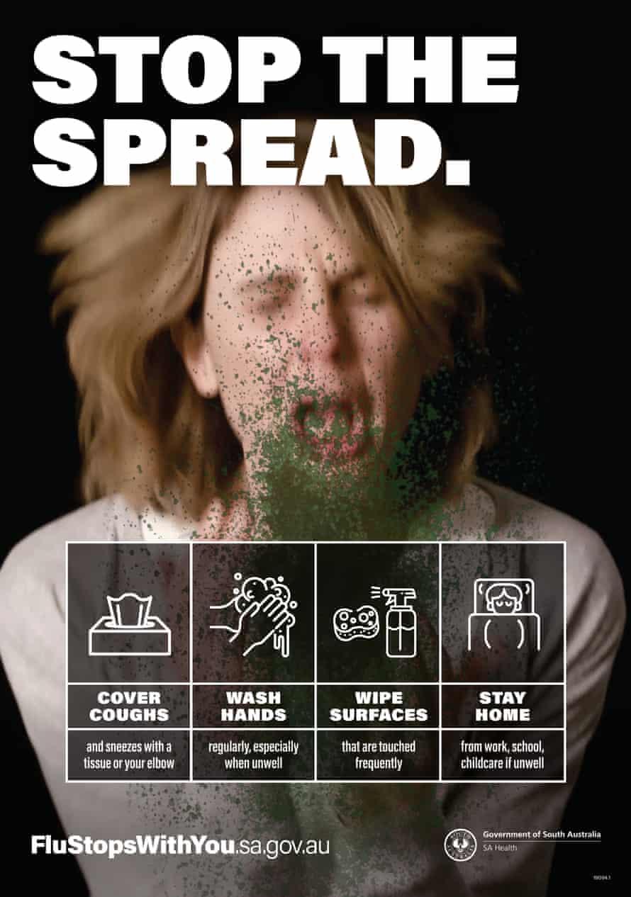 Anti-flu poster