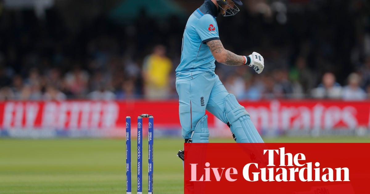 Australia beat England by 64 runs: Cricket World Cup 2019 – as it