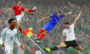 Daniel Sturridge, Gareth Bale, Northern Ireland fans, Dimitri Payet and Mario Gomez