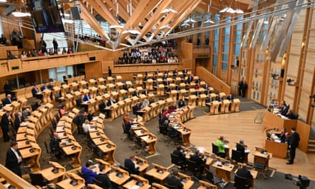 The Green party has six seats in the Scottish parliament.