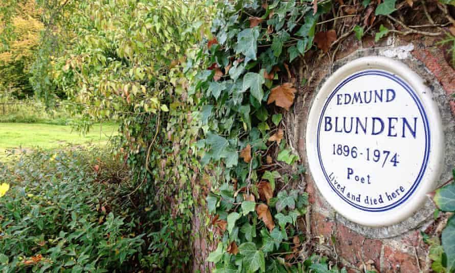 The Mill, Edmund Blunden Plaque.