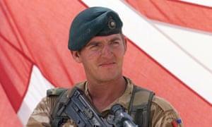 Sgt Alexander Blackman in uniform