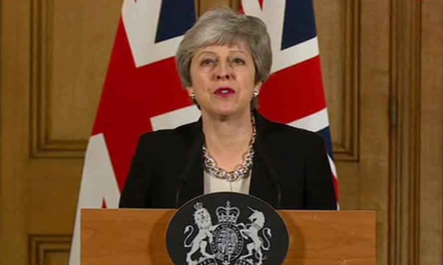 Theresa May announcing on Tuesday evening that she will ask for a short extension to article 50 and seek a compromise withdrawal plan with the Labour party.
