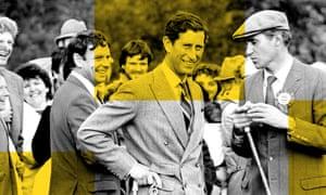 Prince Charles with Hugh van Cutsem
