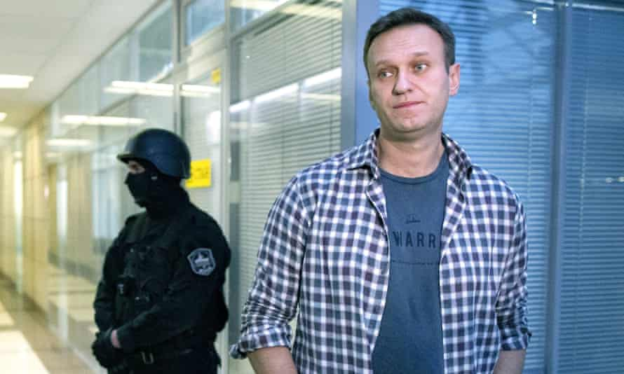 Alexei Navalny to be investigated by Russian authorities over alleged fraud  | Alexei Navalny | The Guardian
