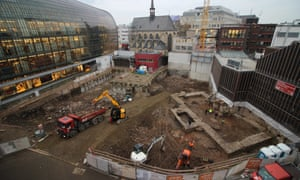 'Really incredible' … the site of the second-century library discovered in Cologne.