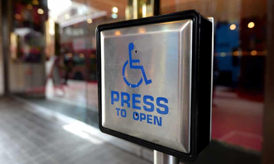 Access buttons are 'neglected, derided or misappropriated', says Grant.