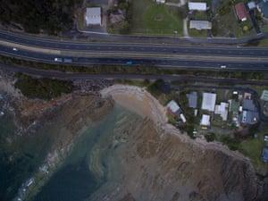Blythe Heads near the town of Burnie in north-west Tasmania.