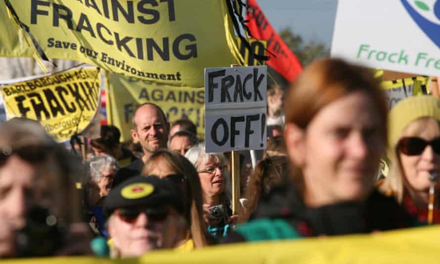 Anti Fracking Protest, Preston New Road.