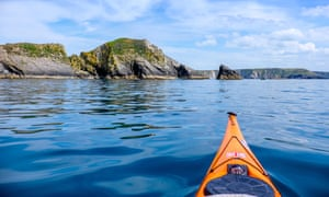 Pembrokeshire Coast National Park by sea kayak