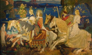 The Riders of the Sidhe by John Duncan is part of the exhibition.
