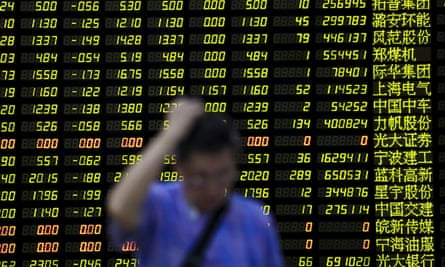 The Shanghai Composite Index slumped by nearly 9%, its biggest one-day drop since 2007.