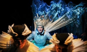 Polly Lister as The Snow Queen at New Vic.