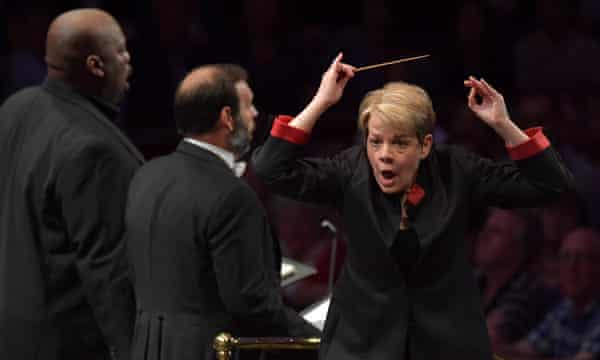 Marin Alsop conducts the Orchestra of the Age of Enlightenment and the BBC Proms Youth Choir in a performance of Verdi's Requiem at the BBC Proms
