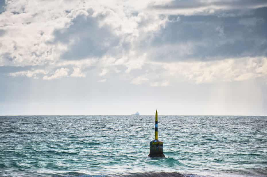 The Pylon off Cottesloe beach in Perth