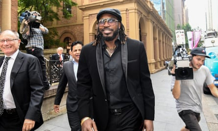 The West Indies cricketer Chris Gayle won a defamation case against Fairfax Media in 2017