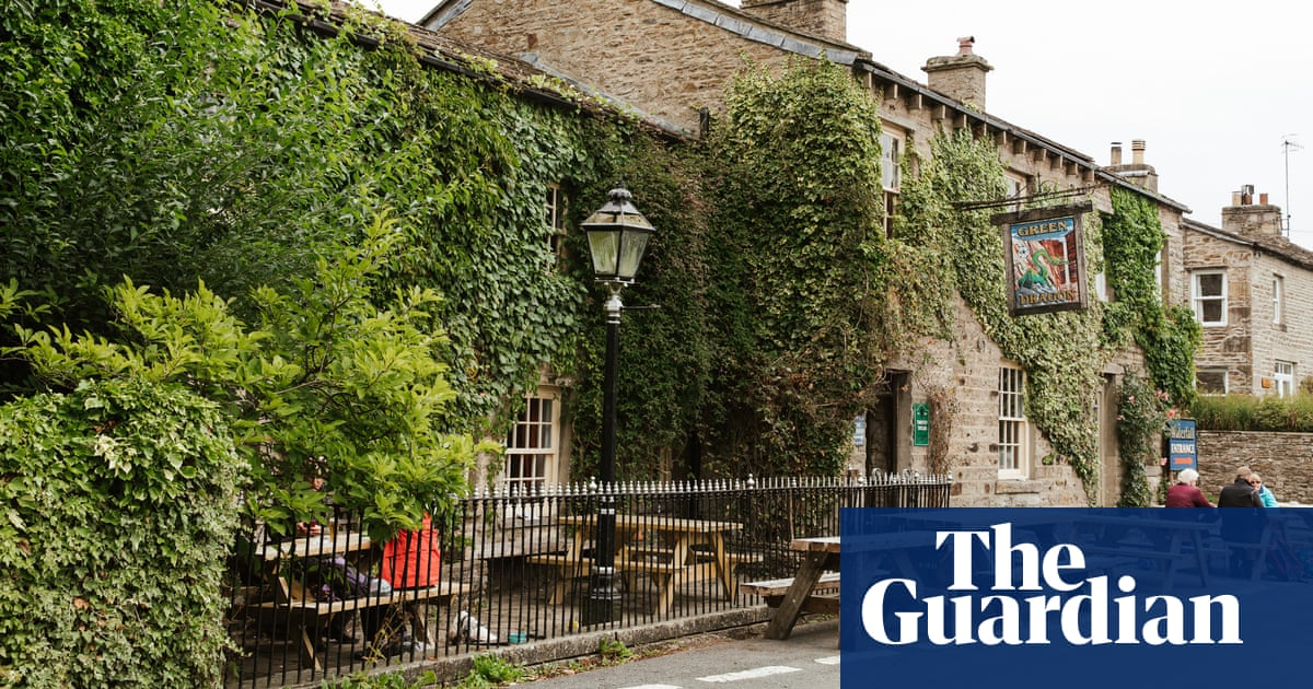 A great walk to a great pub: the Green Dragon, Yorkshire Dales