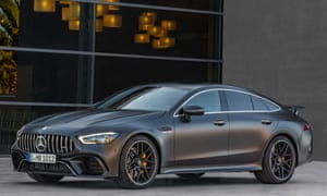 'Large and very imposing': the Mercedes-Benz AMG GT 4-Door.