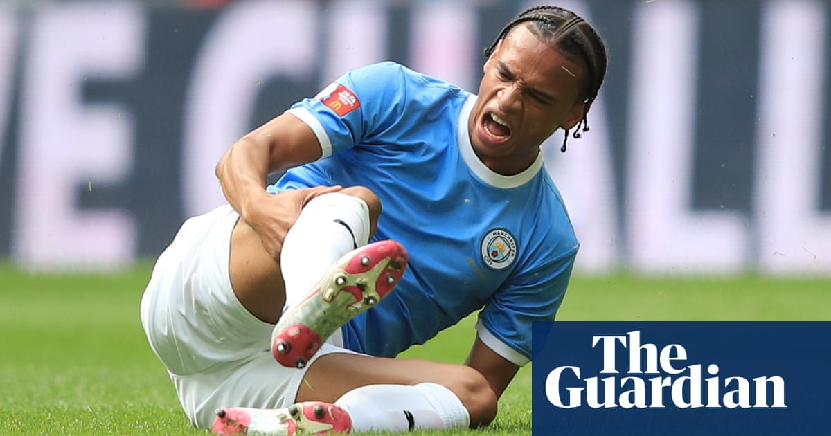 Manchester City expect Leroy Sané to be out for six months with knee injury