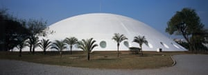 Oscar Niemeyer's 1950 Ibirapuera Park Auditorium in São Paulo