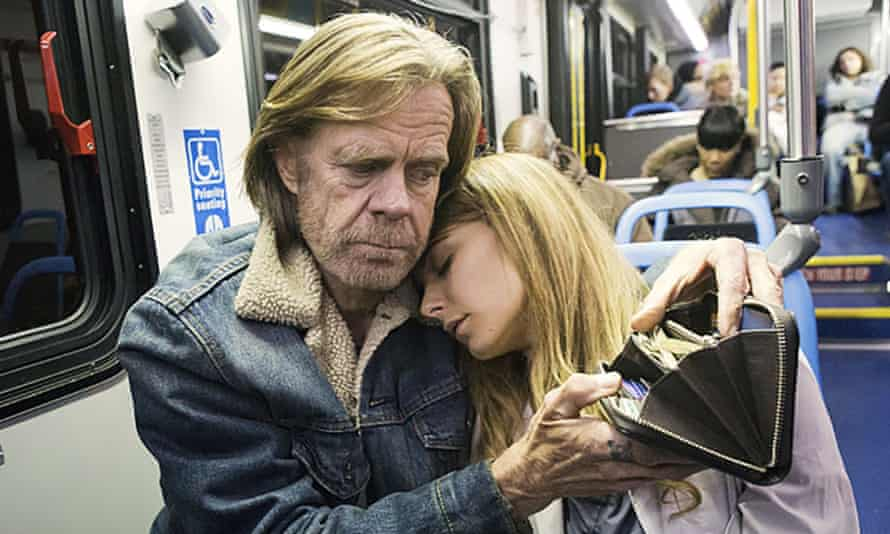 'He's never really hurt anyone – well, not badly' … as Frank Gallagher in the US Shameless.