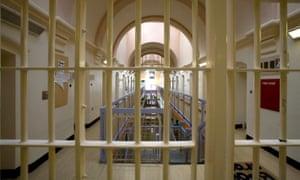 Wandsworth Prison bars.