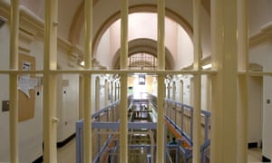 A prison block. James Sullivan was found dead in his cell at Lowdham Grange prison in Nottinghamshire.