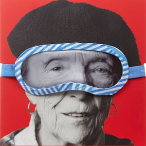 Treat yourself … the Louise Bourgeois eye mask by Third Drawer Down, yours for £28.