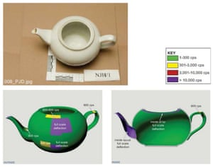 Photo issued by Litvinenko inquiry of the teapot used to poison the former Russian spy.