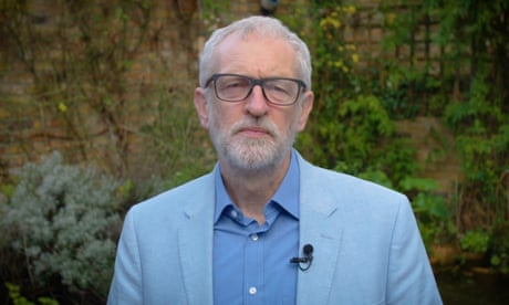 Corbyn rebuked as new year address fails to mention election loss