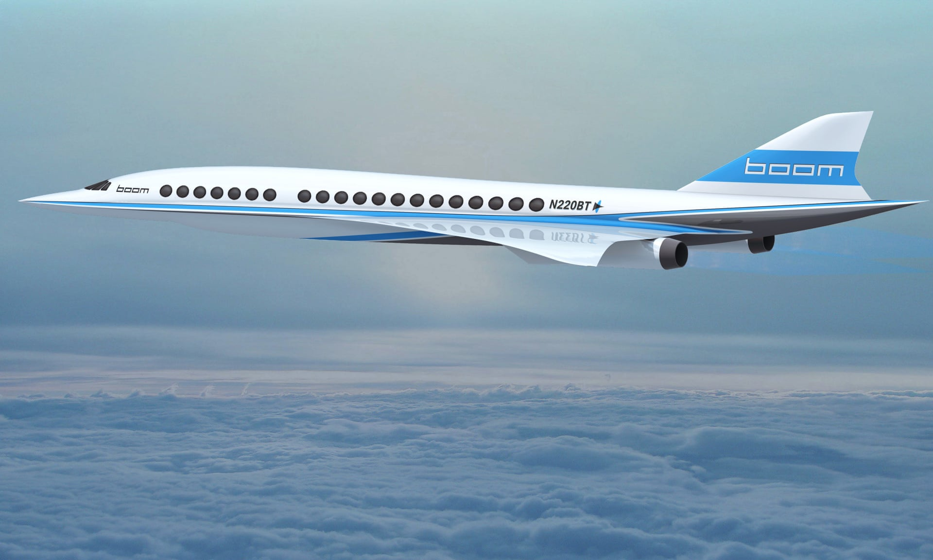 Boom Supersonic Passenger Airplanes 3599