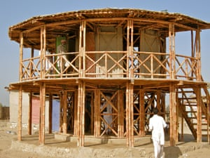 Women's Centre, Darya Khan, Pakistan, designed by Yasmeen Lari.