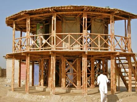 Women's Centre, Darya Khan, Pakistan, designed by Yasmeen Lari.