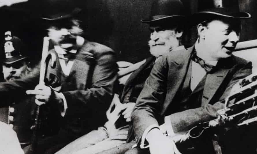 Manchester Guardian editor CP Scott and Winston Churchill, 1909.