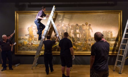Gassed by John Singer Sargent will also form part of the exhibition